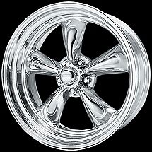 4 14 Inch Vn515 14x6 Torq Thrust Ii Polished Rim Ford Plymouth 5x4 5 Vn5154665