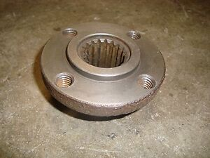 Ford Tractor Industrial Engine Crankshaft Hub Part C0nn6313a used
