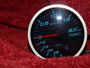 Defi Link Bf 60mm Turbo Boost Guage Df04305 Gauge Only