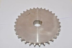 Martin Sprocket Gear 60b33ss Stainless Steel Sprocket 1 In Bore