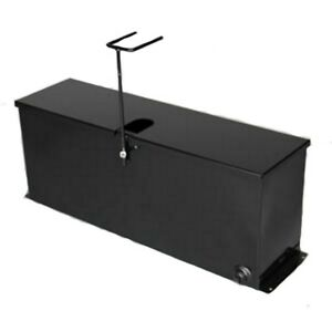 Hd Asphalt Sealcoating Brush Box 40 Squeegee Tank For 36 Squeegee Brushes