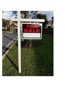 Real Estate Post Sign 5 5 Arm 37