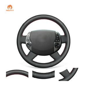 Black Artificial Leather Steering Wheel Cover For Toyota Prius 20 xw20 2005