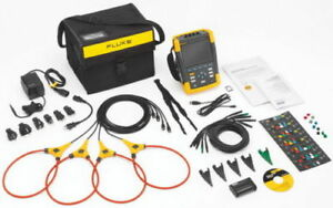 Fluke 435 ii Power Quality And Energy Analyzer New Complete Set With Probes
