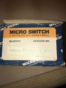 Micro Switch Logic Module Fe tr4 t2 15 Vac 12 Vdc 50 60 Hz New Surplus In Box