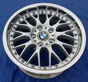 Bmw E28 E34 535 M5 E24 635 M6 M3 E39 Bbs Rs740 Style 42 Restored 17x8 Wheel Rim