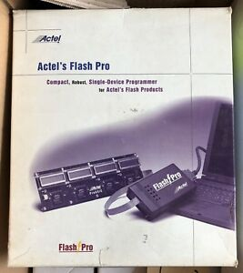 Actel Flash Pro Programmer In Original Box
