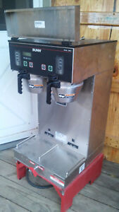 Bunn Sh Dbc Automatic Commercial Coffee Brewer Hot Water Dispenser On Stand