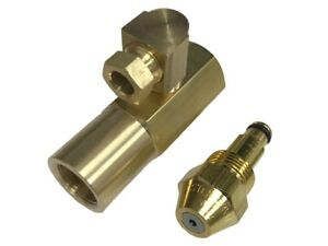 Delavan 30609 5 0 50 Gph Waste Oil Nozzle With En4068 Brass Adapter
