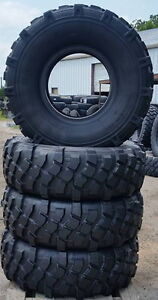 Michelin Xml 395 85r20 100 Tread Military Set Of 4 Free Shipping