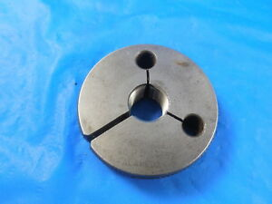 1 2 20 Un 2a Preplate Thread Ring Gage 5 Go Only P d 4652 Inspection Tool