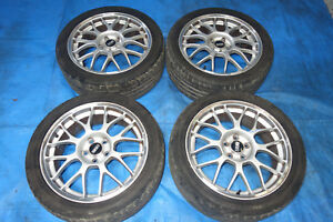 Jdm Bbs Rg345 Forged Rims Wheels Mags 5x100 17x7 55 Impreza Wrx Forester Sti Gd