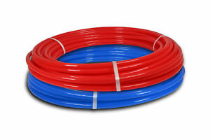 3 4 By 50ft Pex Tubing Potable Water Pipe Combo Red blue