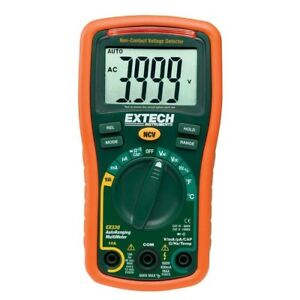 Manual Multimeter With Ncv 4000 Ct Auto Ranging Temp 600 volt Type K Probe 1 1lb