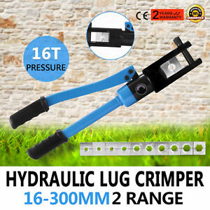 16 Ton Hydraulic Wire Terminal Crimper Battery Cable Wire Heavy Duty Popular