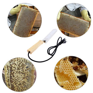 Electric Beekeeping Knife Uncapping Decapping Scraper Bee Honey Stainless Heat
