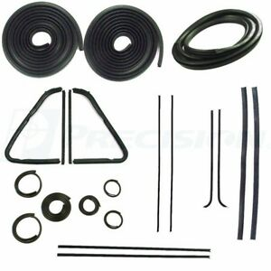 1954 1955 Chevy Chevrolet Gmc Pickup Truck Complete Weatherstrip Kit