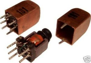 3pcs Variable Inductor Rf Coil 45uh 100uh Litz Wire Ham Radio Hobby Toko
