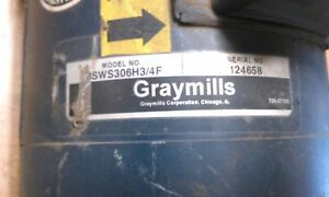 Graymills 3 4 Inch Water Pump With 3 4 Hp Leeson Motor