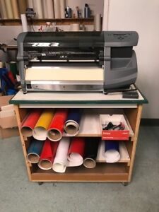 Gerber Envision 15 Vinyl Plotter Cutter In Excellent Condition
