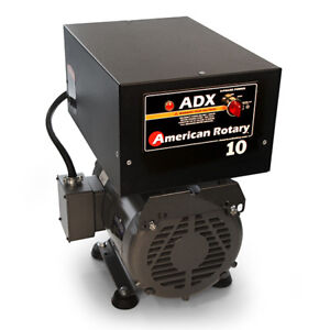 American Rotary Adx10fm floor Mount Adx Series 10hp Rotary Phase Converter 240v