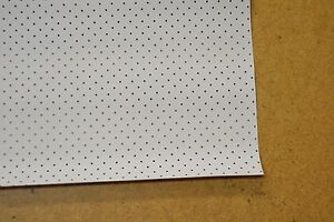 1958 58 Chevrolet Impala 2 Dr Hardtop White Perforated 8 Bow Headliner Usa Made