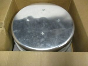 Gravity Roof Vent 8 Fan Size 19 Sq Base 199 Cfm Oal Height 9 New