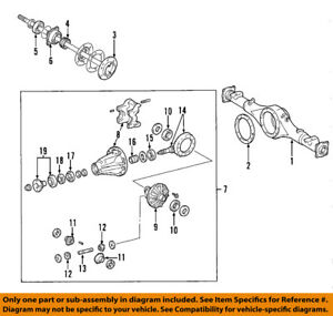 Toyota Oem Rear Axle Seal 90310 58003 Factory Sold Individually Various Models