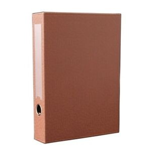 Leather File Folder Document Data Business Storage Paper Box Organizer Holder