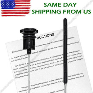Transmission Locking Dipstick Nag1 Level Tube Fluid Atf Fits 3 5 V6 3 6 V6