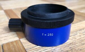 Carl Zeiss F 250 F 250 Fine Focusing Objective For Opmi Surgical Microscope