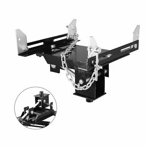 Heavy Duty Transmission Floor Jack Adapter Attachment Rated Capacity 1 2 Ton