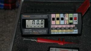 Simpson 467 True Rms Digital Multimeter Digalog Display Case Leads 10a Shunt