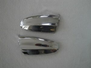 Pair 1956 Ford Parking Light Extension Fender Trim Mouldings left And Right