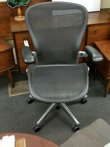 Excellent Aeron Executive Chair By Herman Miller Perfect Condition