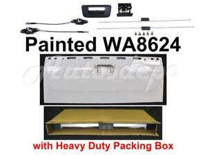 Painted Wa8624 Tailgate Cable Latch Rod Handle For Silverado 2007 13 W o Keyhole