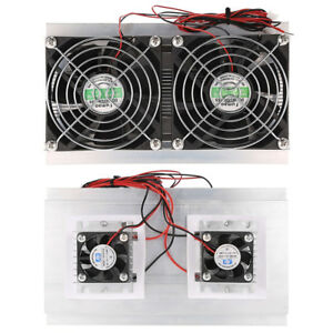 Thermoelectric Peltier Refrigeration Cooling System Kit Cooler Radiator Fan Ip8y