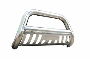 For 2002 2005 Dodge Ram 1500 Ss Bull Bar Grill Guard Front Bumper W Skid Plate