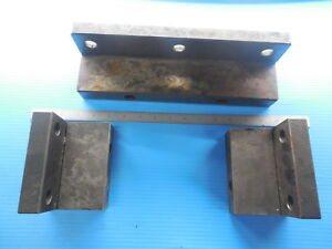 3 Pcs Makino Pallet Stop Blocks Cnc Mill Machine Shop Tools Large And Small