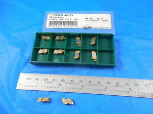 10 Pcs New Tool Flo Tf24735 Fltbp 2l 048p 35 X 0 Gp3 Carbide Top Notch Insert