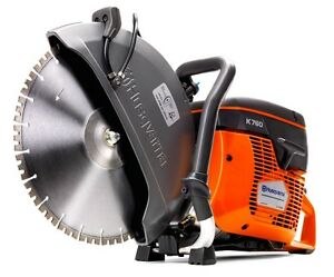 Husqvarna K760 14 Gas Concrete Demo Saw New Ships Today Authorized Dealer