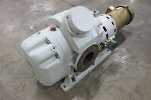 Leybold Ruvac Blower Booster Vacuum Pump motor Assy Used Am16767c