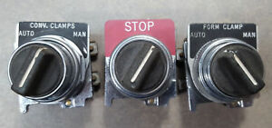 Lot Of 3 Switch Actuator Eaton 10250t Series Switches 600vac