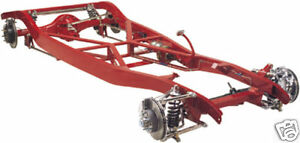 Tci 1933 1934 Ford Ifs Street Rod Chassis Ifs Front 4 Link Rear Suspension
