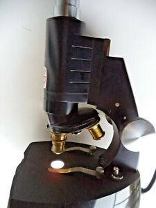 Microscope Graf Apsco Vintage Spencer Made In Usa Antique Rare Collection Us