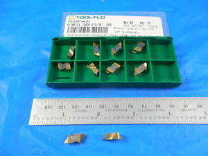 10 Pcs New Tool Flo Tf24736 Fltbp 2l 040p 0 X 35 Gp3 Carbide Top Notch Insert