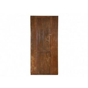 Antique 19th Century American Pine Painted Cupboard 12097