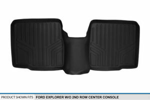 Maxliner Floor Mat Liner 2nd Row Black For 11 19 Explorer W o 2nd Row Console
