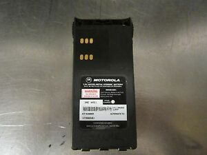 078 Motorola Radio Batteries Ntn9858b Lot Of 10 Security Police