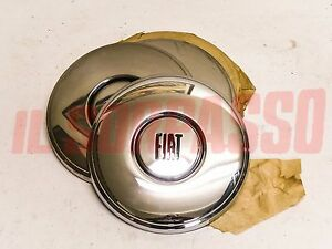 Caps Bolts Wheels Wheel Fiat 125 Special Last Type Original